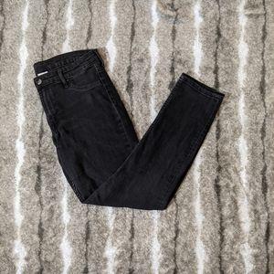 H&M Dark Denim Skinny Ankle Boyfriend Jeans